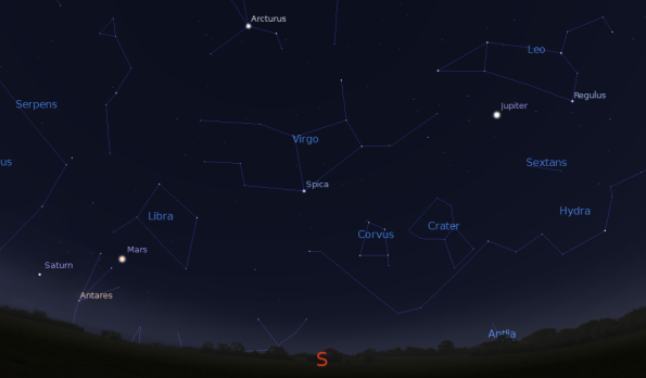 visible planets tonight november 25 - photo #5