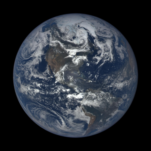 Earth at summer solstice