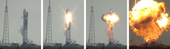 Falcon 9 Explosion