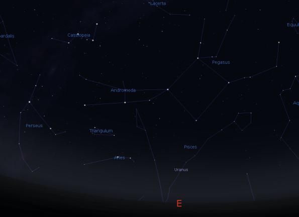 Andromeda, Pegasus and Perseus