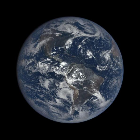 The Earth near the autumnal equinox