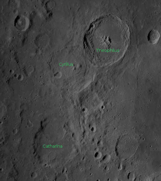 Three Orthodox Saints on the Moon