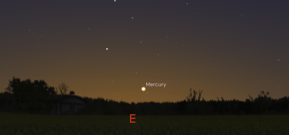 Mercury this a.m.