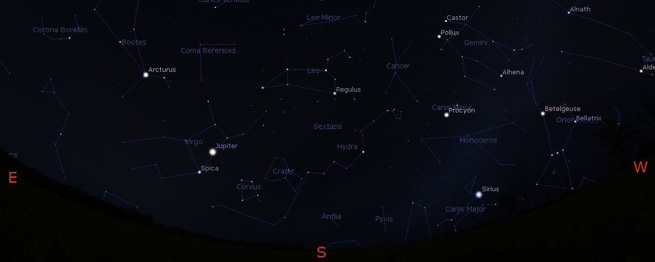 11/30/2016 – Ephemeris – The bright planets this morning and tonight