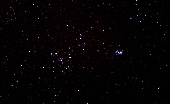 Hyades and Pleiades