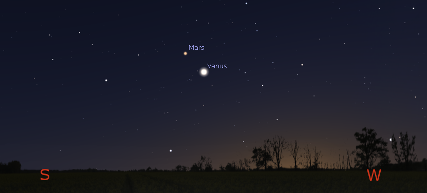 planets in the sky on january first 2017 - photo #1
