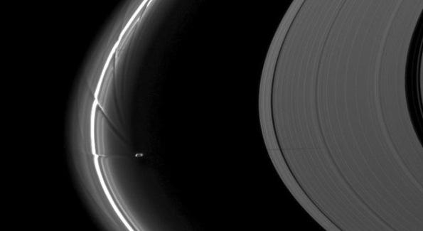 Prometheus and the F Ring
