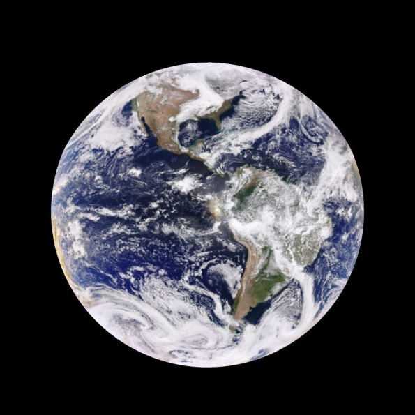 Earth near equinox