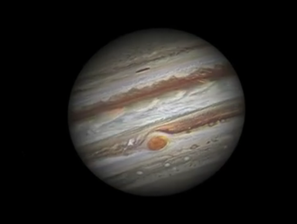 Frame from A Journey to Jupiter
