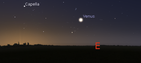 Venus in the morning