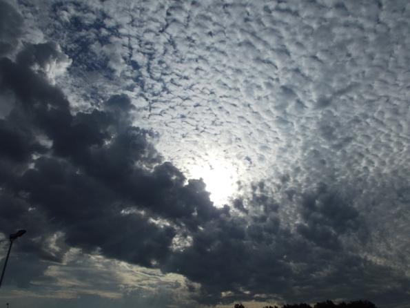 Definitely unfriendly clouds