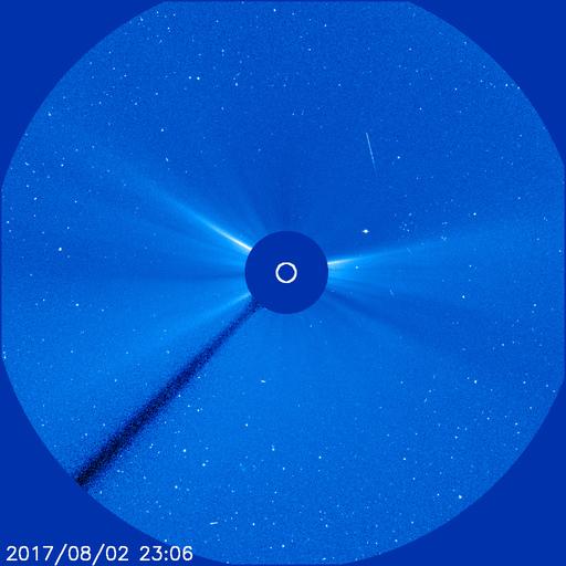 SOHO coronagraph