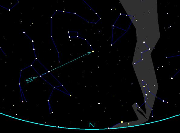 Polaris Finder Chart