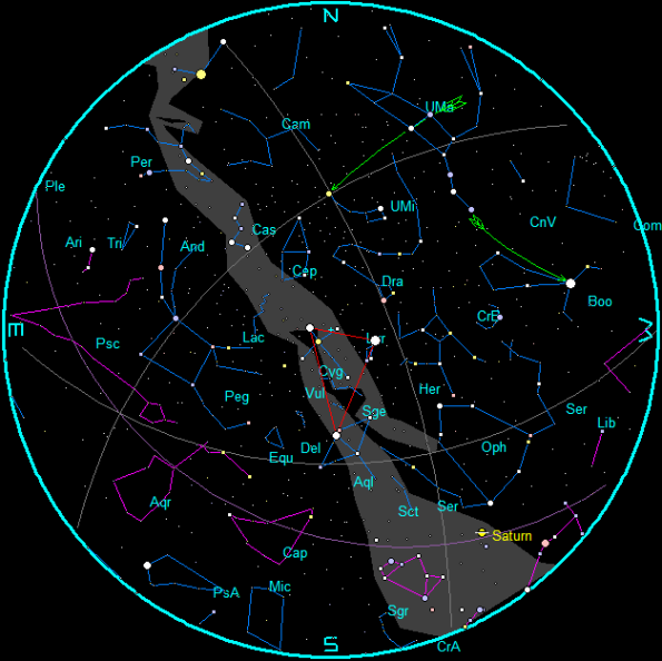 September Star Chart