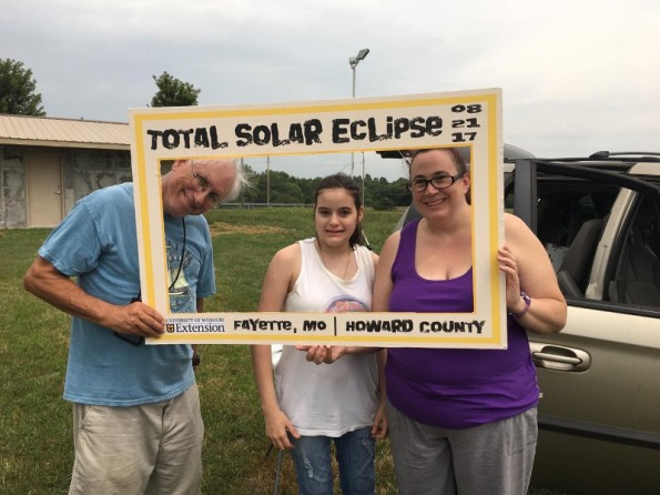 The eclipse crew