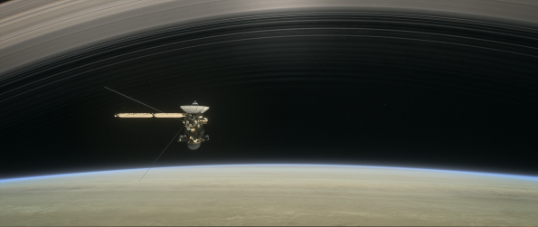 Cassini in the gap
