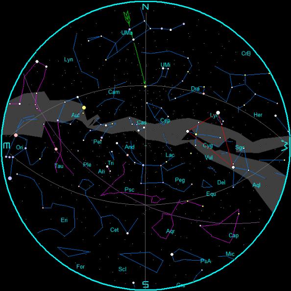 November star chart