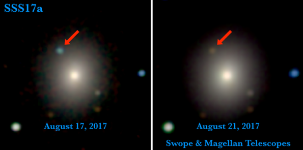 SSS17a aka GW170817 optically
