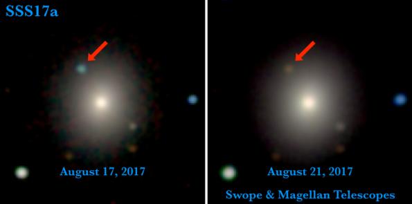 SSS17a aka GW170817 optically