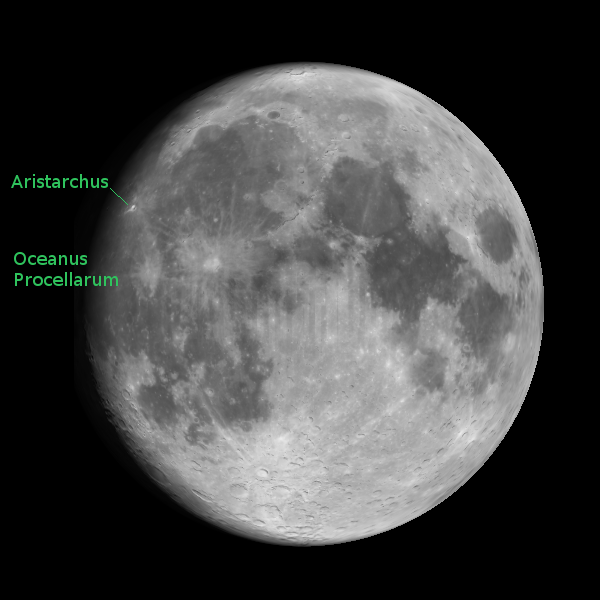 The Moon and Aristarchus
