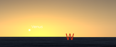 Venus, the planet of love