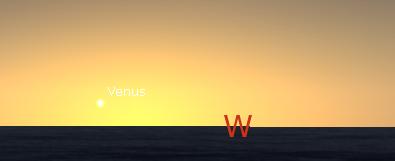 Venus, the planet of love