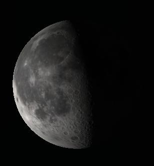 The biocular Moon