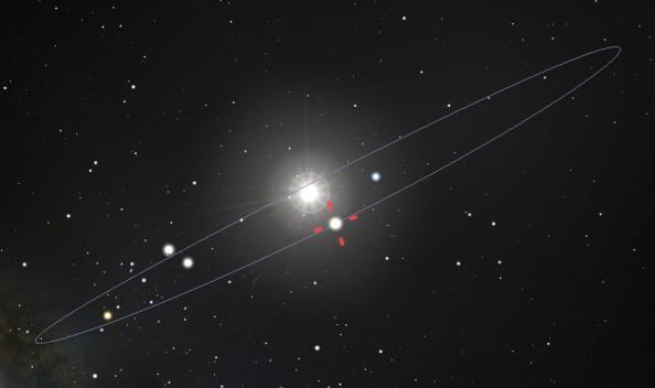 Venus at inferior conjunction