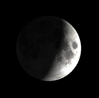 Crescent Moon tonight