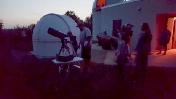 Star party at the NMC Observatory