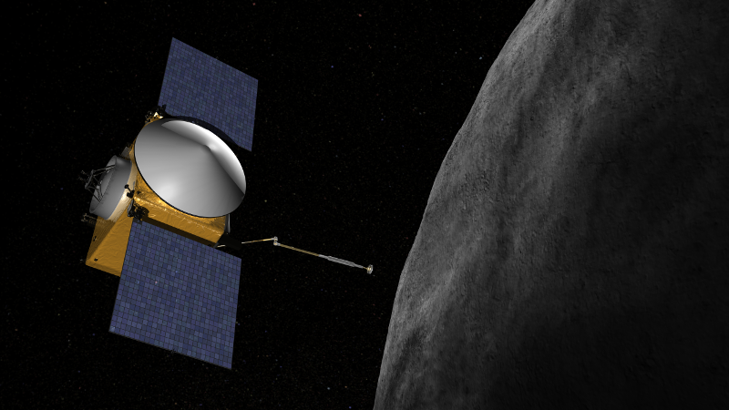 OSIRIS-REx at Bennu