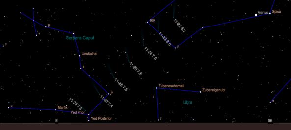 Comet C/2018 V1 ( Machholz-Fujikawa-Iwamoto )