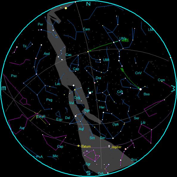 May Morning Star Chart