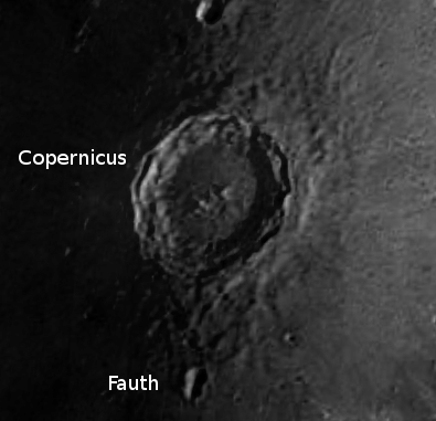 Closeup of Copernicus