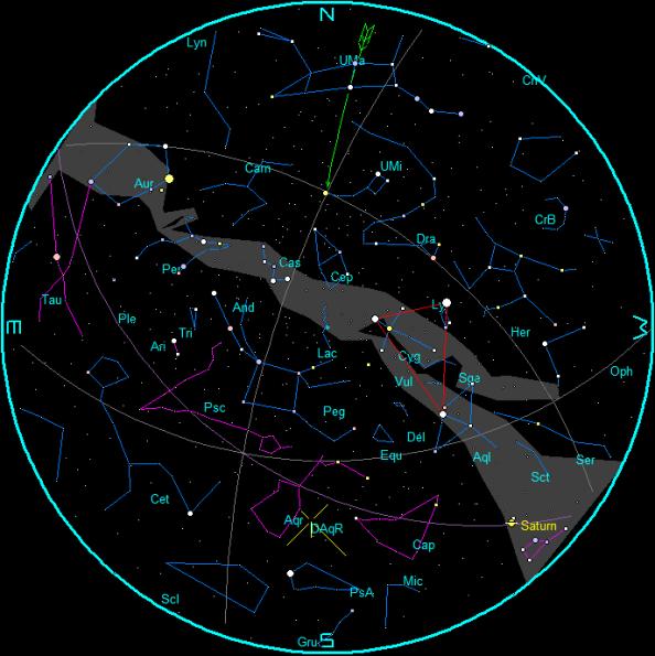 July 2019 morning star chart