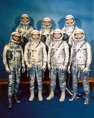 The 7 Mercury Astronauts