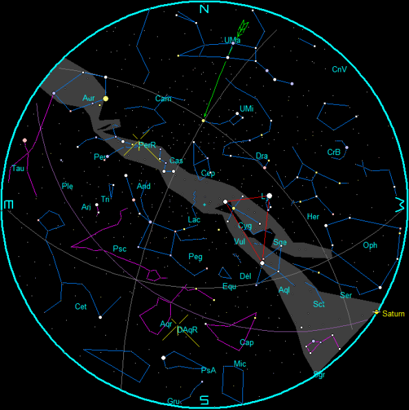 South Delta Aquariid meteor shower at peak and Perseids