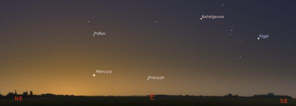 Mercury in the morning