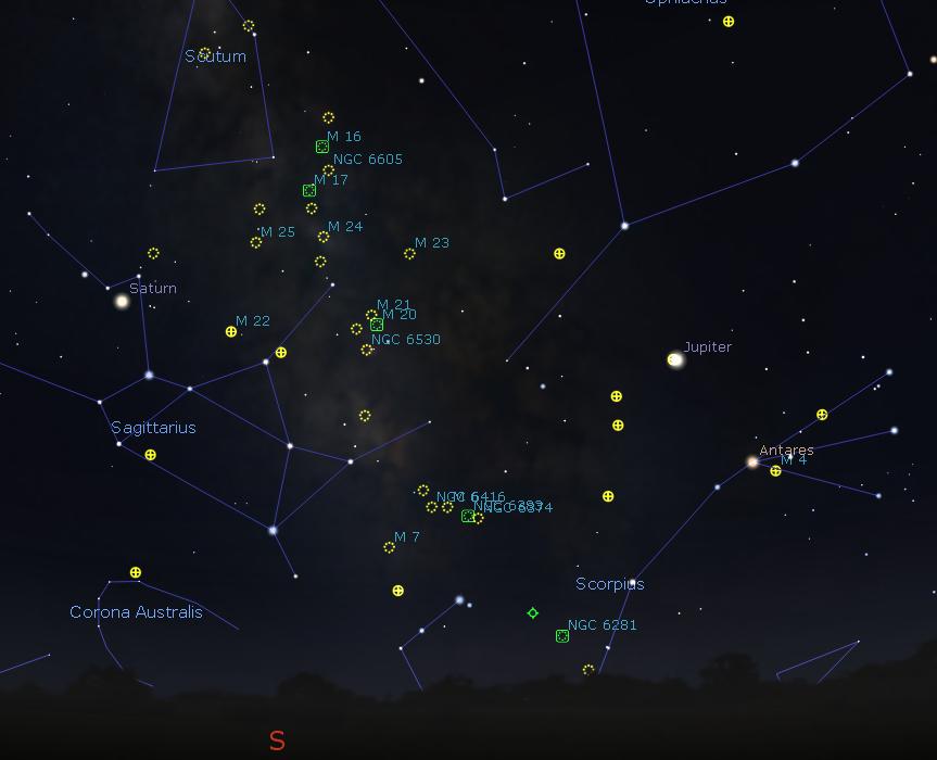 Deep Sky Object | Bob Moler's Ephemeris Blog