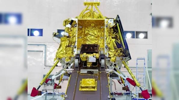 Chanrrayaan's Vikram lander and Pragyan rover