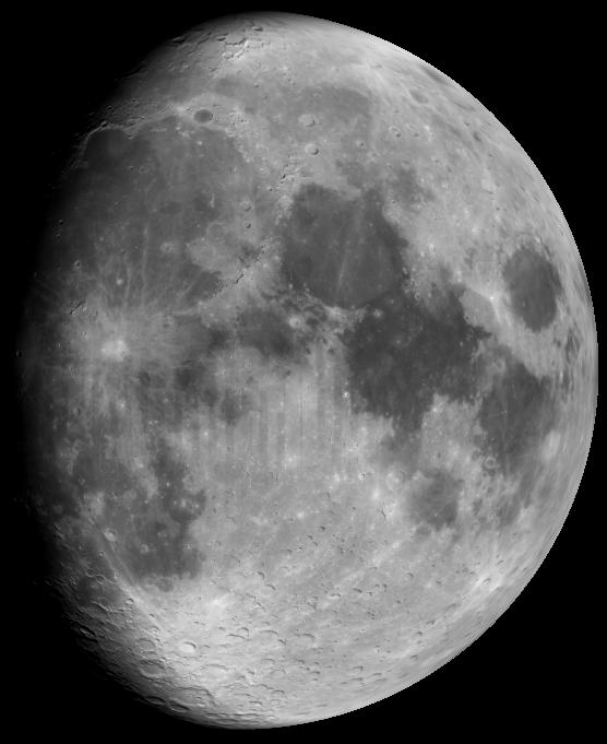 Gibbous Moon tonight