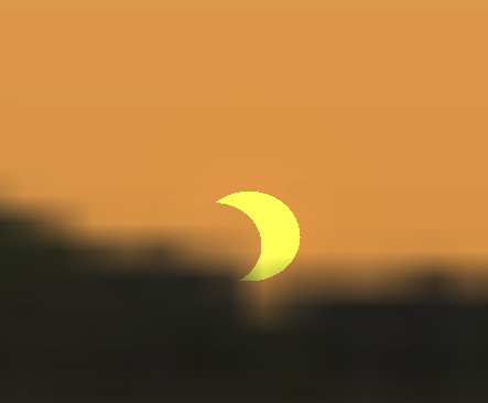 The Sun rises in Eclipse 6/10/21