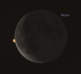 Mars Occultation Start