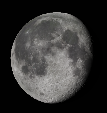 Binocular Moon tomorrow morning