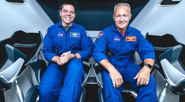 Bob Behnken and Doug Hurley NASA Astronauts for Demo-2 of SpaceX Crew Dragon