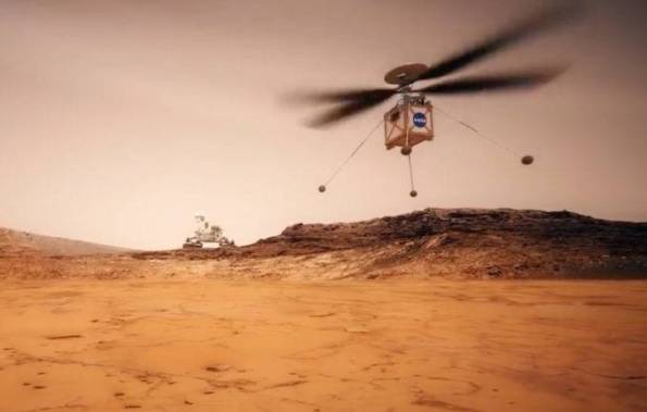 "Mars Helicopter ""Ingenuity"""