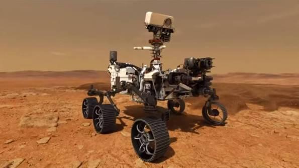 "Mars 2020 Rover ""Endurance"""