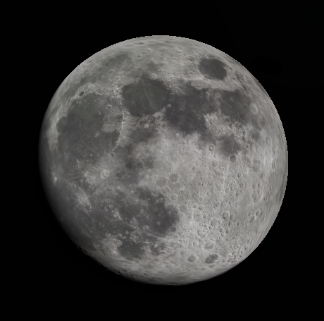 Low Magnification Moon