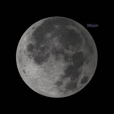 Penumbral eclipse maximum