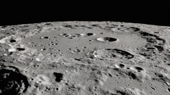 Closeup of Clavius